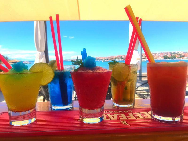 pool bar cocktail novalja